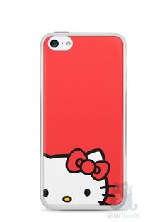 Capa Iphone 5C Hello Kitty - SmartCases - Acessórios para celulares e tablets :)