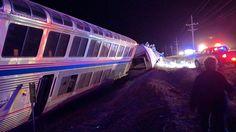 Kingz Magazine: Chicago-bound Amtrak train derails in Kansas, 30 i...