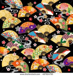 Find Beautiful Pattern Japan stock images in HD and millions of other royalty-free stock photos, illustrations and vectors in the Shutterstock collection. Thousands of new, high-quality pictures added every day. Micro Fleece Fabric, Arte Popular, Print Patterns, Pattern Print, Beautiful Patterns, Hand Fan, Royalty Free Stock Photos, Japanese, Illustration