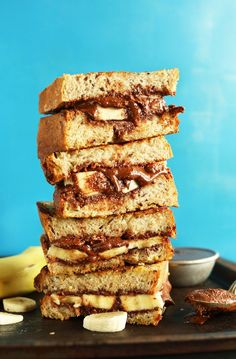 Grilled Nutella Banana Sandwich @FoodBlogs
