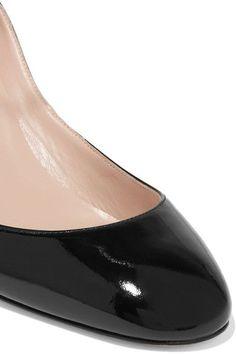 Valentino - Tango Patent-leather Pumps - Black - IT37.5