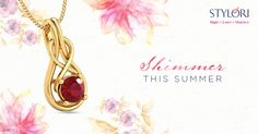 I saw it in her eyes ... Her passion, that twinkled and teased destiny.  http://www.stylori.com/jewellery/pendants/gemstone/Caaren-Twined  #Stylori #Love
