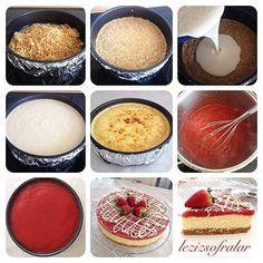 CILEK SOSLU BEYAZ CIKOLATALI CHEESECAKE – Lezizsofralar'a Hosgeldiniz Cream Cheese Recipes, Cake Pops, Muffin, Cooking Recipes, Pudding, Breakfast, Desserts, Food, Morning Coffee
