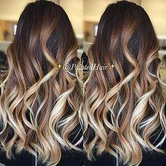 10 Wunderschöne Blonde und Dunkle Haare Farbe Ideen