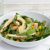 Recipe from The Burn: Chicken Mango Salad is not only delicious -- this and other H-Burn recipes balance your body's hormones, and get your scale un-stuck! Get the recipe on our blog.