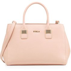 Furla Amelia Medium Leather Tote Bag
