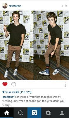 Grant Gustin on Comic Con 2015 ♥♡