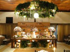 Decoração linda delicada e romântica.  Decoração: Liliane Brunello Decoração #guianoiva #noiva #casamento #decoração