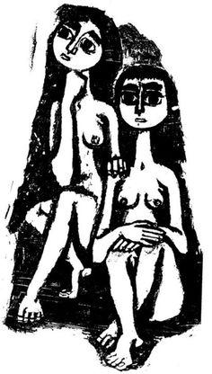 Vaso Katraki, Punk Poster, Etching Prints, Ceramics Projects, Art Of Living, Portraits, Figurative Art, Sculpture, Art Inspo, Printmaking