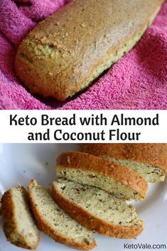 Keto Bread with Almond and Coconut Flour