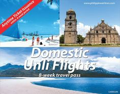 Unli Travel with Philippine Airlines' Domestic Unliflights Pass