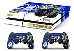 Skin PS4 HD VALENTINO ROSSI THE DOCTOR 46 limited edition DECAL COVER ADESIVA