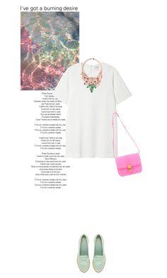 """I've got a burning desire. 2"" by rosa-loves-skittles ❤ liked on Polyvore featuring Monki, CÉLINE, ASOS, Ek Thongprasert, women's clothing, women, female, woman, misses and juniors"