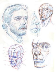 THE HEAD: CONSTRUCTION PLANES AND PERSPECTIVE by AbdonJRomero.deviantart.com on @DeviantArt