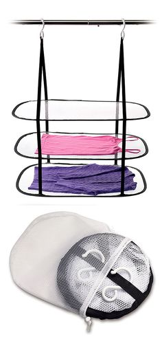 Hanging sweater dryer // Folds up compact for storage... need this! #product_design