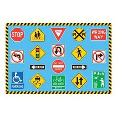 Traffic Signs To Print Quiet Book Pinterest Signs