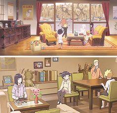 Naruto Gif, Naruto Comic, Naruto Cute, Naruto Funny, Naruto Shippuden Anime, Uzumaki Family, Naruto Family, Boruto Naruto Next Generations, Kid Kakashi