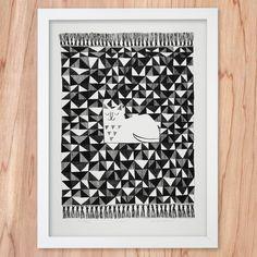Silkscreen Print   Couscous / Lisa Jones Studio