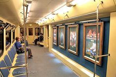 art in Moscow metro by Avi_Abrams, via Flickr