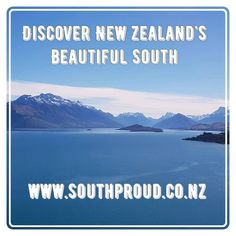Hit our website to discover New Zealand's Beautiful South. South Island, New Zealand, Travel Guide, Activities, Website, Beautiful, Travel Guide Books