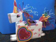 Unicorns and Fairy Tales My Funny Valentine, Valentine Boxes For School, Unicorn Valentine, Valentines Day Party, Valentines For Kids, Valentine Day Crafts, Valentine Ideas, Holiday Crafts For Kids, Holiday Fun