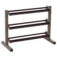 "Body-Solid Tools 40"" Three-Tier Dumbbell Rack ShopNBC.com"