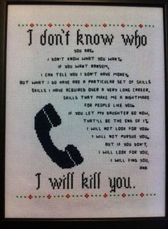 Taken quotation cross stitch! No pattern though. Cross Stitching, Cross Stitch Embroidery, Embroidery Patterns, Cross Stitch Patterns, Stitching Patterns, Modern Embroidery, Naughty Cross Stitch, Needle And Thread, Memes