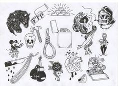 tumblr tattoo flash - Google Search