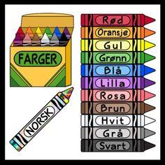 Crayons in Spanish / Spanish Colors (High Resolution) Welsh Language, Latin Language, Portuguese Language, Turkish Language, Italian Language, French Language, Spanish Language, Spanish Colors, French Colors