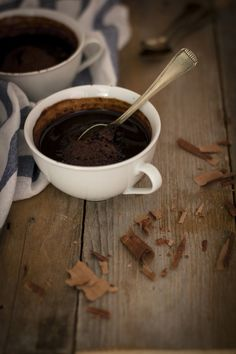 Pudding al cioccolato e caffè - #Chocolate #coffee #pudding