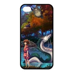 Japanese Anime Spirited Away Case for Iphone 4 4s Design 028
