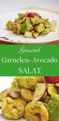 Garnelen-Avocado-Salat. .... low carb, lchf, lc, ohne Kohlenhydrate, less carbs, abnehmen, weightloss, salad recipe, salat repeat, gesund essen, healthy, healthy living, gesunde Ernährung, salat Rezepte, Feldsalat, salad recipes, saladsunday, gesunde Rezepte zum abnehmen, gesundes Rezept, healthy rezepte, Garnelen Salat Low Carb, Garnelen Rezept, Avocado Rezept deutsch, Radieschen