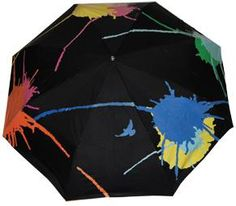 Squidarella umbrella. It starts out black and white, then each rain drop will cause a colorful design to show through.