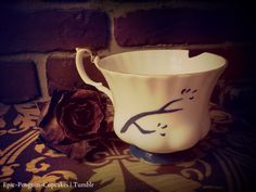 Chipped Cup (Rumbelle) Once Upon A Time ABC. $50.00, via Etsy. I want this to someday be in my collection.