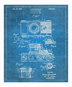 Take a look at this Küppenbender 1936 Camera Art Print by Oliver Gal on #zulily today!
