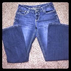 Maurice's jeans Maurice's brand jeans. Size 5/6 short. Like new. Maurices Jeans Straight Leg