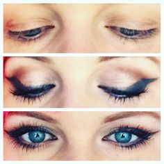 Makeup for hooded eyelids. Www.studiowaverly.com