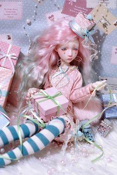 LillyCatCeriseDolls French BJD's Fantasy Figures, Monster High Custom, Artsy Fartsy, Art Dolls, Harajuku, Sculptures, Clay, French, Baby Dolls