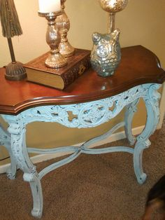 diy chalk paint and wax