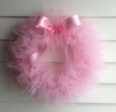 Ballerina Party Tutu Wreath
