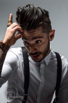 Luis Andre'  |  men's hairstyles  |  the undercut