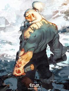 Einar the Unbroken by kaktuzlime.deviantart.com on @DeviantArt
