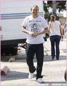 Sons of Oregon!! | Charlie Hunnam | Jax Teller | Love it! | Want the shirt! | #SOA #Jax #Oregon #Sons | @auttumnwhite |