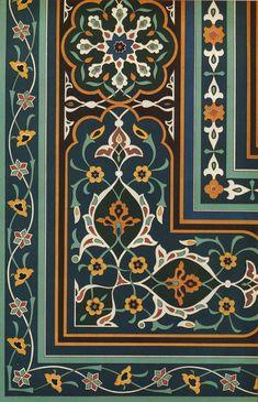 SIM 015 : L'art de l'Asie Centrale, N Simakoff | Pattern in Islamic Art Islamic Motifs, Islamic Tiles, Islamic Art Pattern, Pattern Texture, Pattern Art, Motif Oriental, Turkish Pattern, Francis Picabia, Mughal Architecture