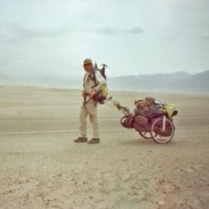 Karl Bushby has spent 15 years walking halfway across the world, and he intends to finish the other half.