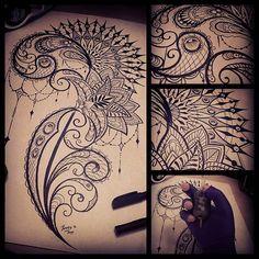 @best_tattoos_world @tattoo_of_instagram @tattoos_of_instagram @tattooedbodyart @tattoos.art @tattoos_inspirations @tattooinkspiration @tattoos_of_insta #tattooideas #mandala #art #fourfingers