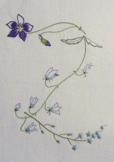 Field Flowers Alphabet - Z