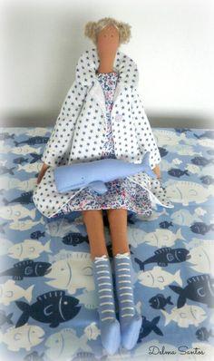 Tilda doll with whale. https://fbcdn-sphotos-d-a.akamaihd.net/hphotos-ak-ash4/419910_508934625823675_1712572222_n.jpg