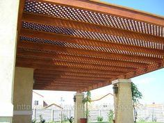 Cobertizos de madera Patio Design, Exterior Design, House Design, Ideas Terraza, Gazebo On Deck, Deck Plans, Garden Living, The Great Outdoors, Terrazzo