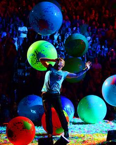 Their concert was the world's most amazing party.